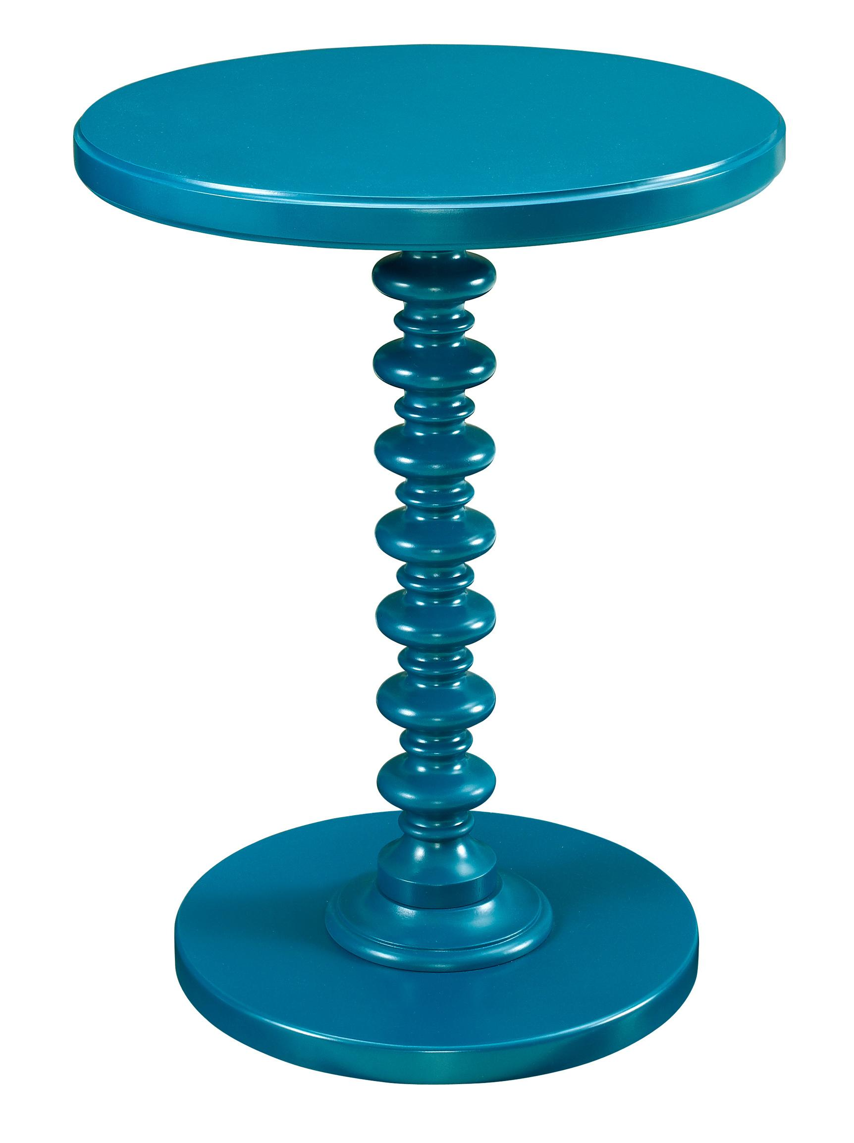 Powell Accent Tables Round Spindle Table - Item Number: 287-269