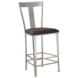 Powell Bar Stools & Tables Metal Contemporary Barstool