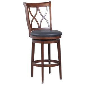Powell Bar Stools & Tables Carmen Swivel Barstool