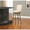 Powell Bar Stools & Tables Davis Upholstered Barstool