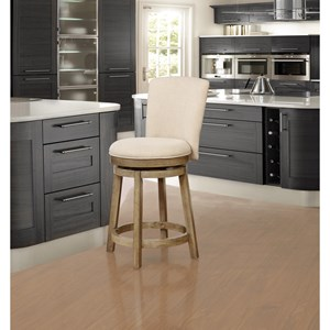 Powell Bar Stools & Tables Davis Upholstered Counterstool