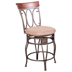 Powell Bar Stools & Tables Wallace Swivel Bistro Stool