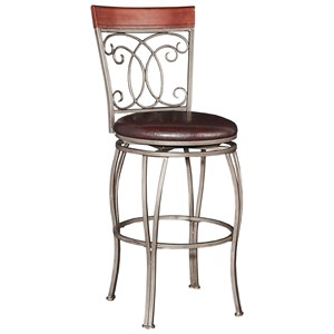 Powell Bar Stools & Tables Bailey Big & Tall  Barstool