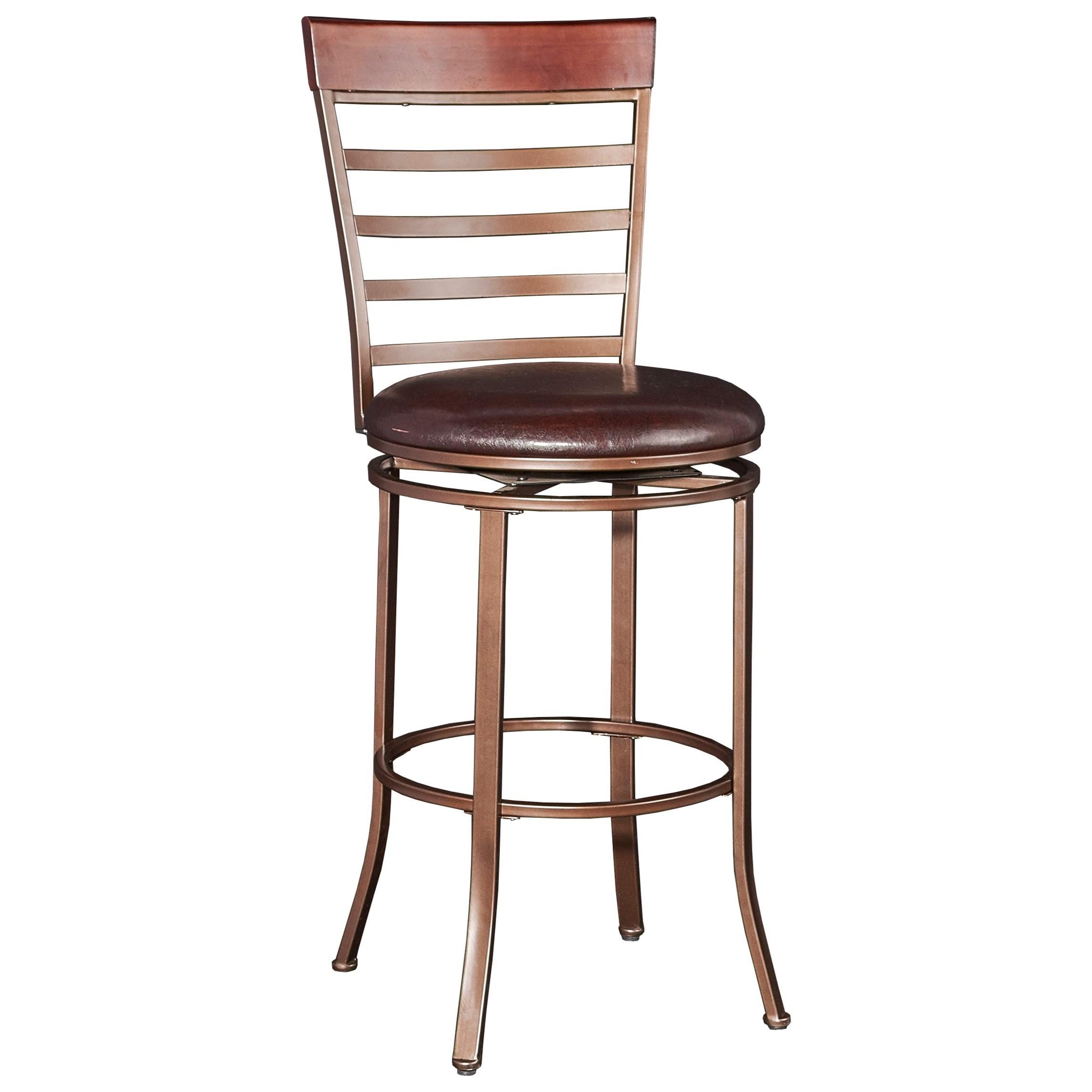 Powell Bar Stools Amp Tables Miller Big Amp Tall Barstool Wayside