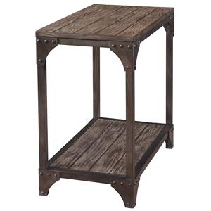 Powell Benjamin Chairside Table