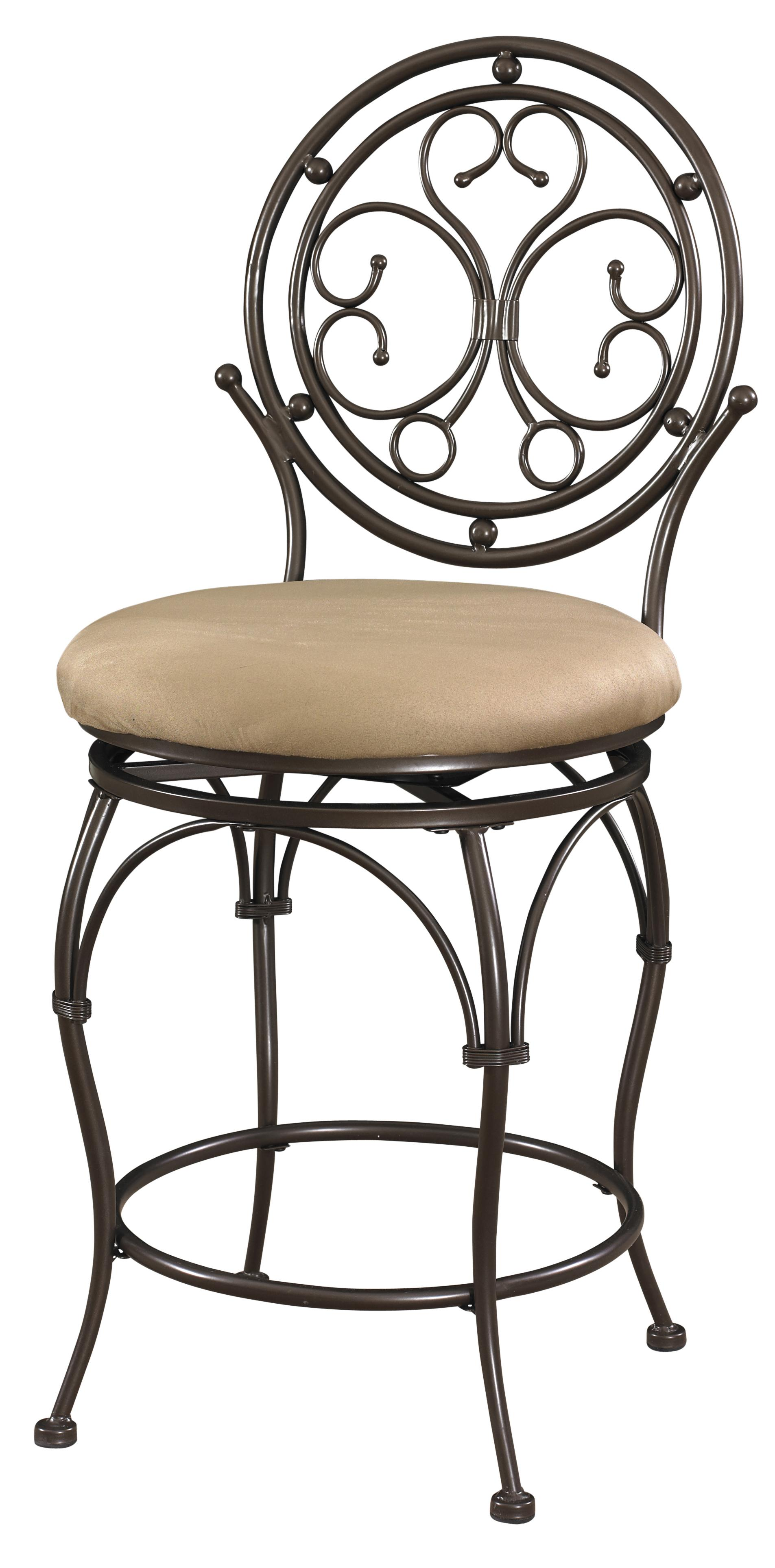 Powell Big and Tall Circle Back Counter Stool - Item Number: 586-726