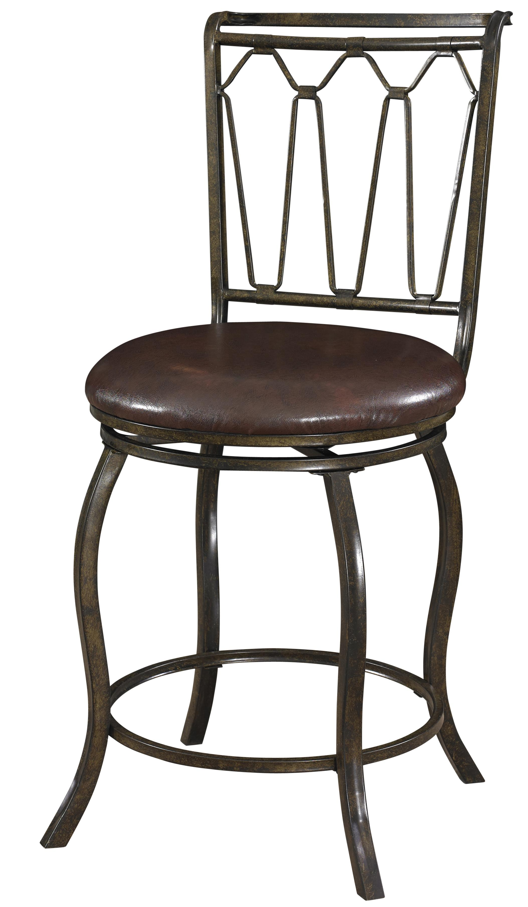 Powell Big and Tall Triple Cone Counter Stool - Item Number: 938-726
