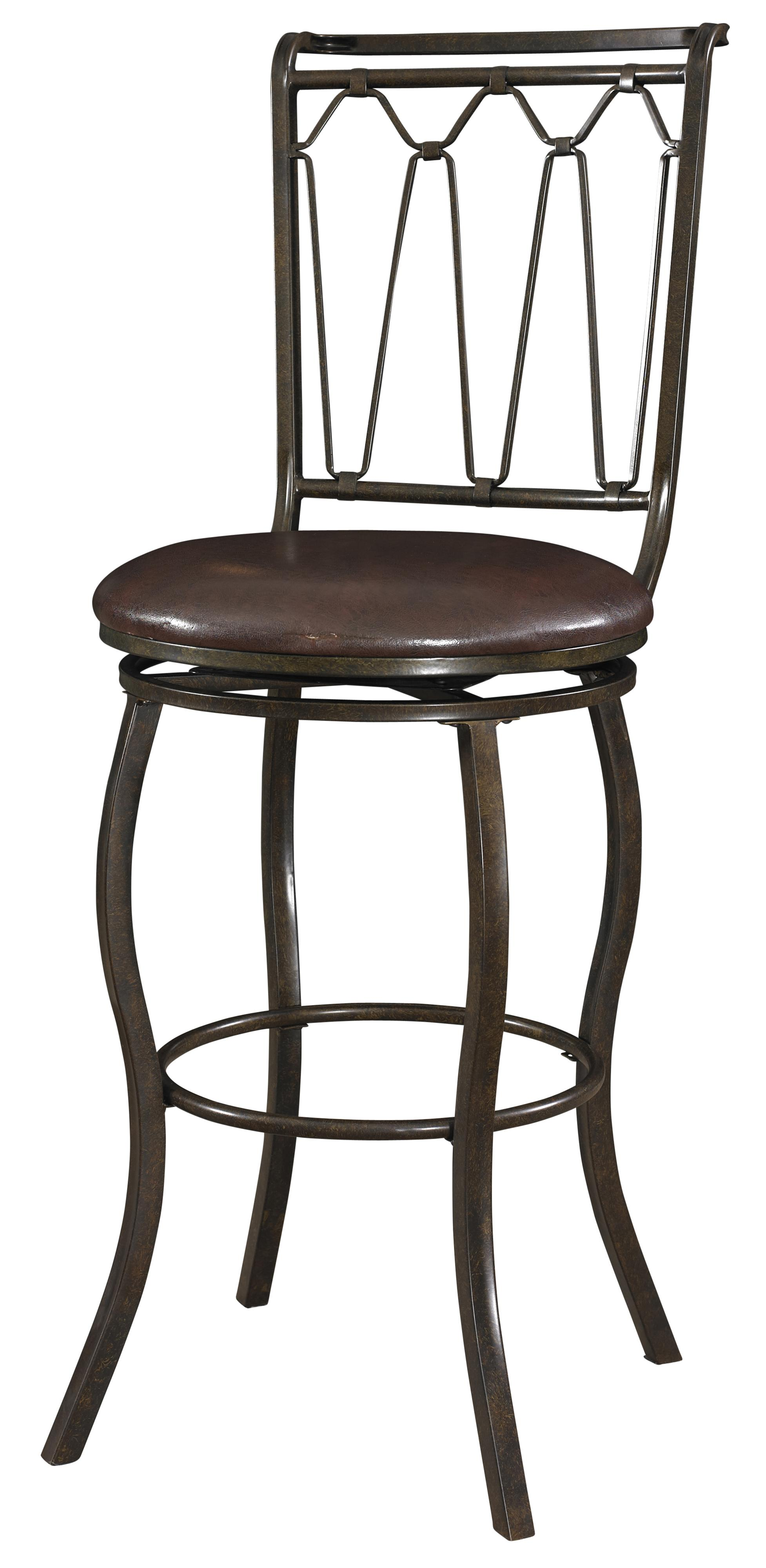 Powell Big and Tall Triple Cone Bar Stool - Item Number: 938-847