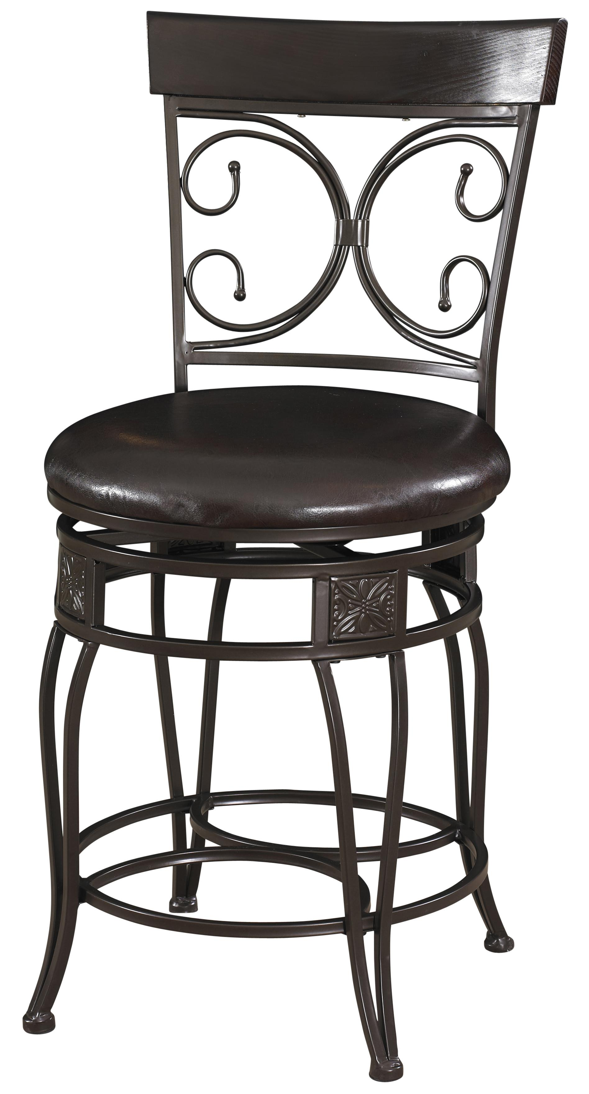 Powell Big and Tall Big & Tall Scroll Counter Stool - Item Number: 938-918