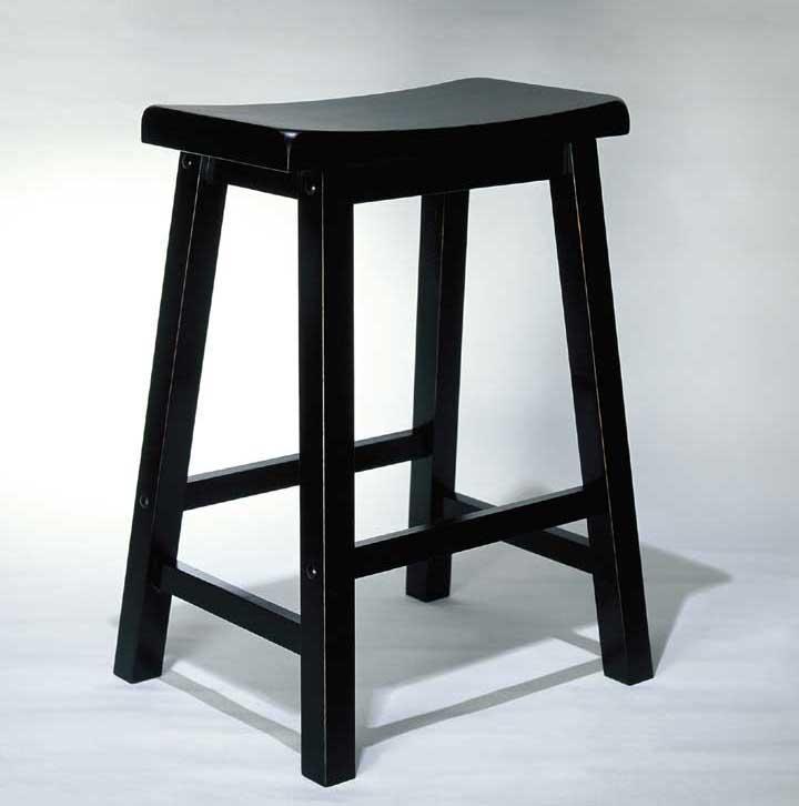 Powell Black Bar Stool - Item Number: 502-430