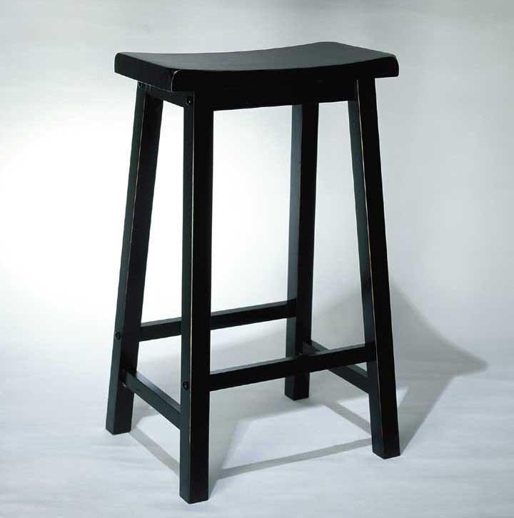 Powell Black Bar Stool - Item Number: 502-431