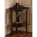 Powell Bombay Gallery Corner Accent Table