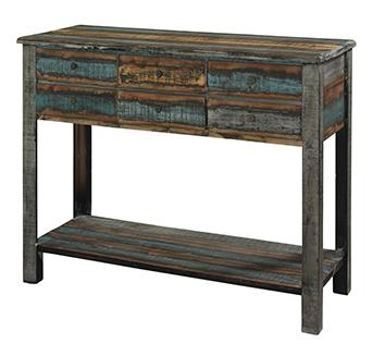 Powell Calypso Console Table - Item Number: 114-225