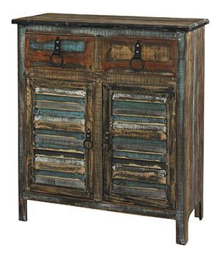 Powell Calypso 2-Drawer 2-Door Console - Item Number: 114-660