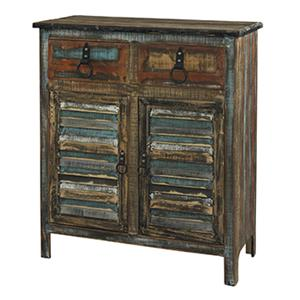 2-Drawer 2-Door Console