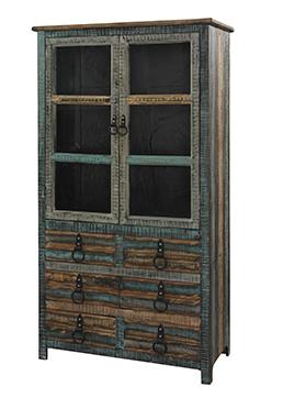 Powell Calypso High Cabinet - Item Number: 114-861
