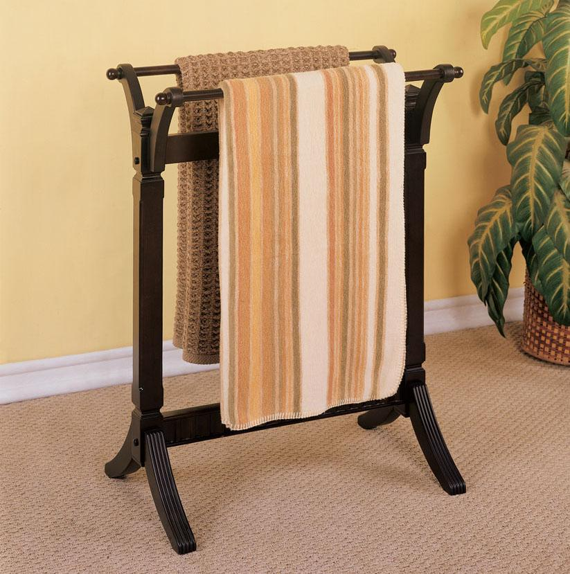 Powell Contemporary Merlot Blanket Rack - Item Number: 383-273