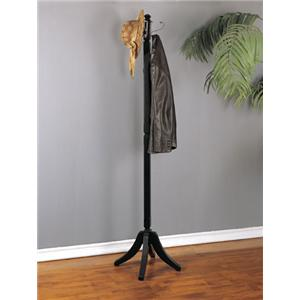 Powell Contemporary Merlot Coat Rack