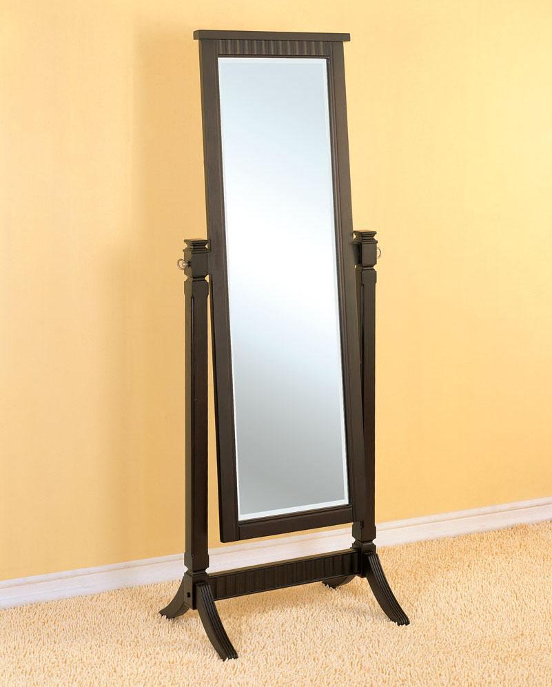 Powell Contemporary Merlot Floor Mirror - Item Number: 383-773