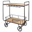 Powell Craft Bar Cart - Item Number: 17D6013