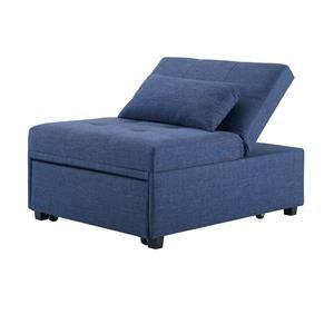 Powell Dozer Pullout Sleeper Chair With Tufted Seat Homeworld Furniture Futons