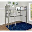 Powell Gavin Twin Loft Bed - Item Number: D1109Y17