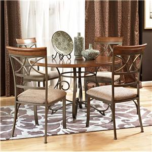 Powell Hamilton 5 Piece Dining Table Set
