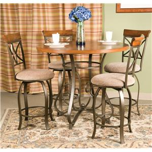 Powell Hamilton 5 Piece Gathering Table Set