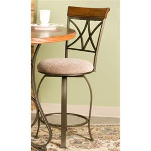 Powell Hamilton Swivel Counter Stool