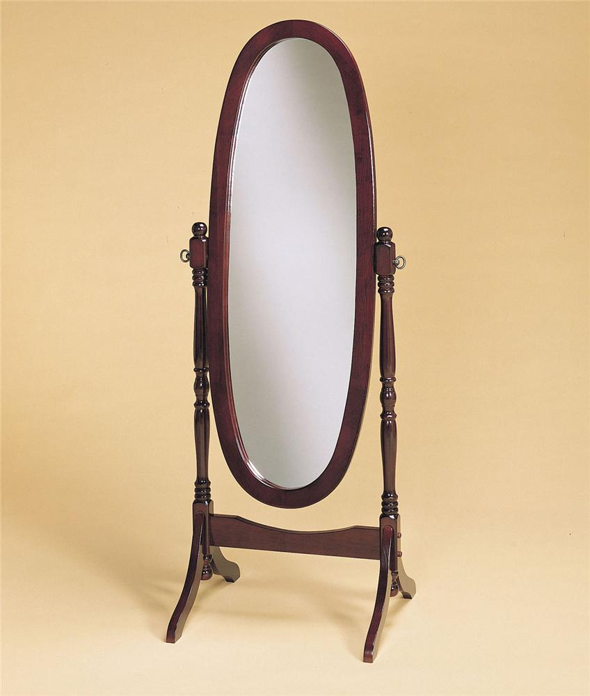 Powell Heirloom Cherry Cheval Mirror - Item Number: 978A