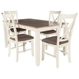 Powell Jane Jane 5pc Dining Set