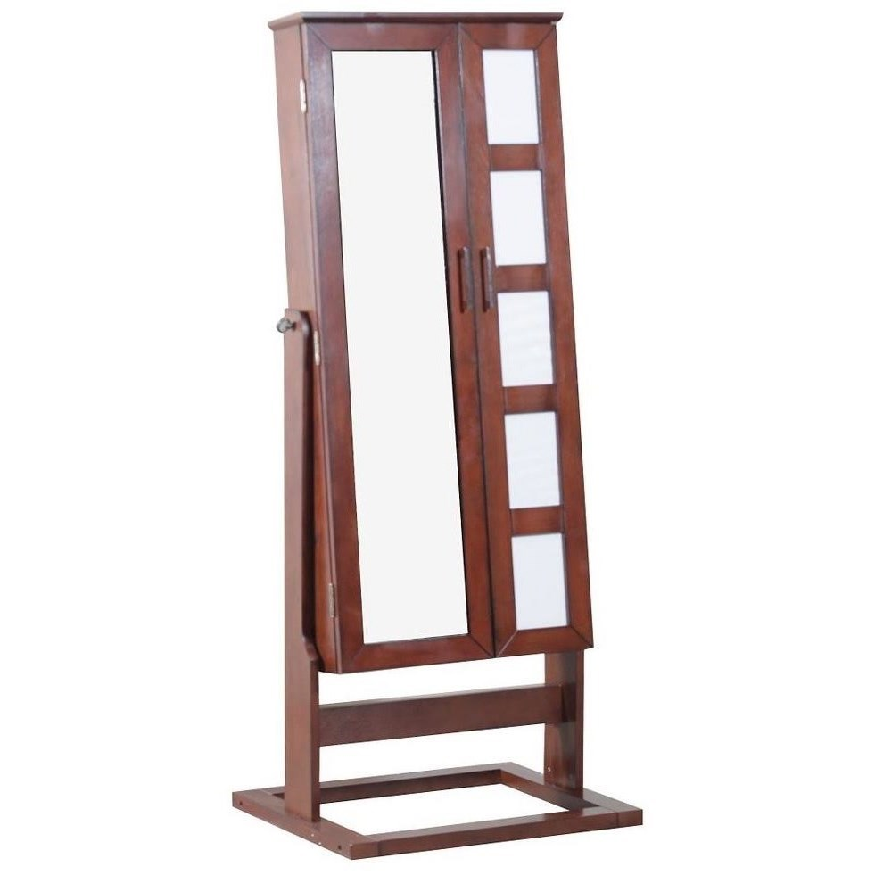 Powell Jewelry Armoire Cheval Photo Jewelry Armoire - Item Number: 144-072C