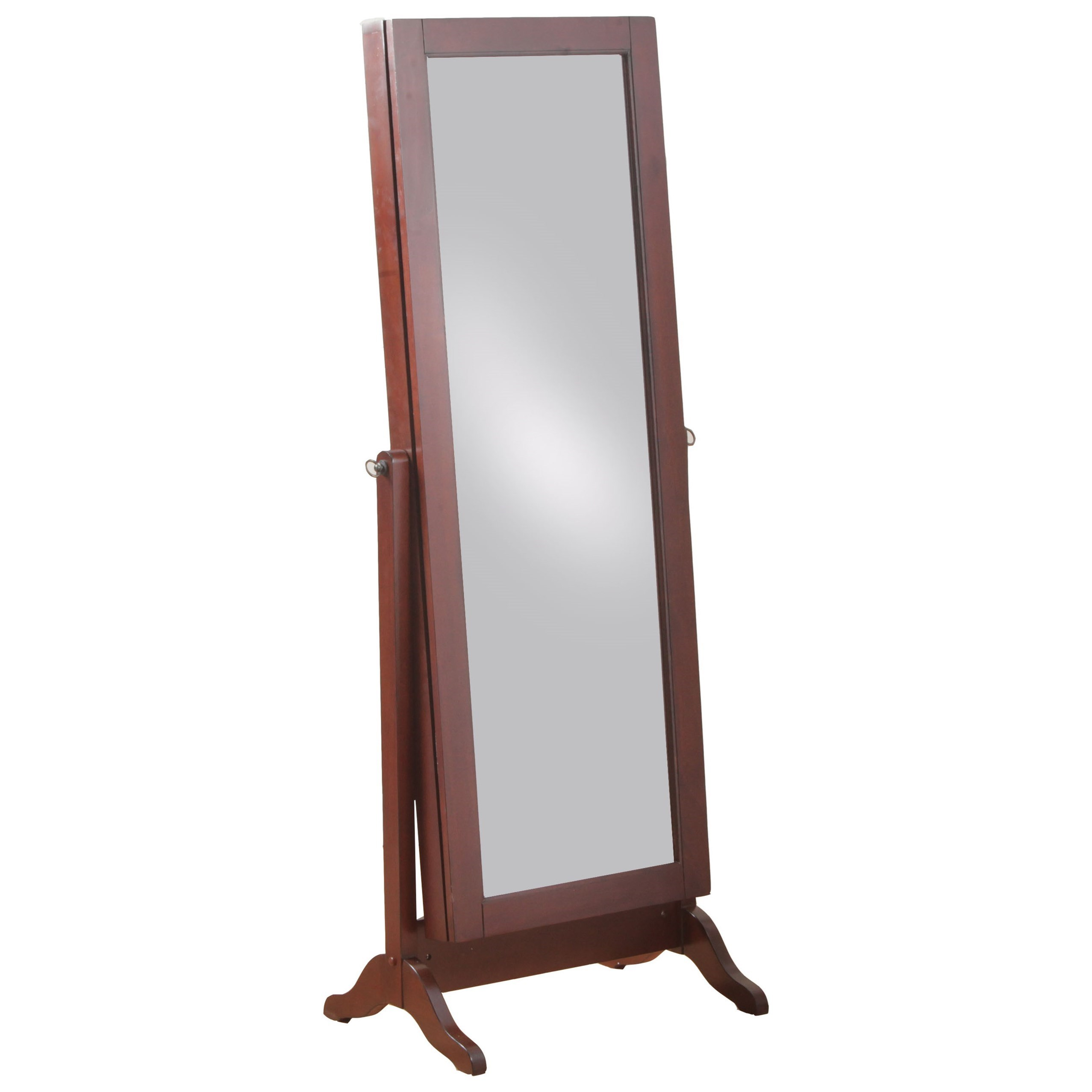 Powell Jewelry Armoire Sliding Jewelry Armoire - Item Number: 14J2001CH