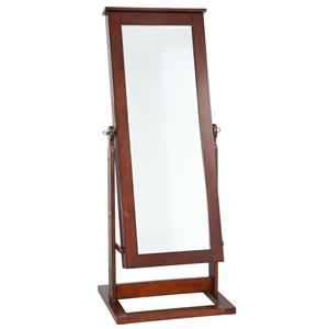 Powell Jewelry Armoire Walnut Cheval Jewelry Wardrobe