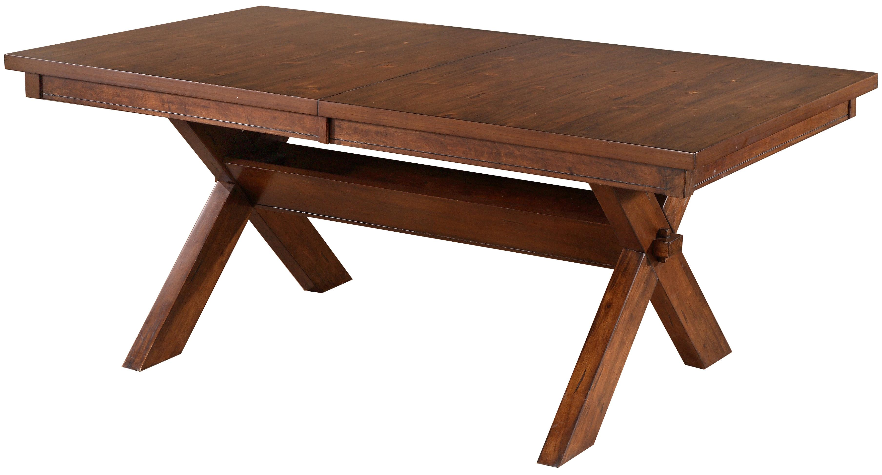 Powell Kraven Dining Table - Item Number: 713-417