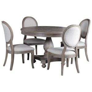 Powell Lenoir 5 Piece Dining Package