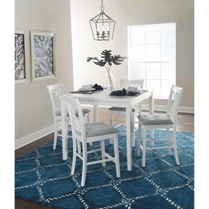 5-Piece Counter Height Table and Chair Set