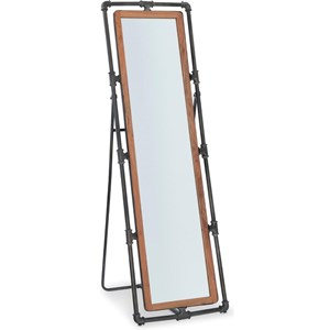Industrial Pipe Cheval Mirror