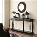 Powell Accents Black Console - Item Number: 158-534