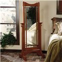 Powell Mission Oak Cheval Mirror - Item Number: 993-230