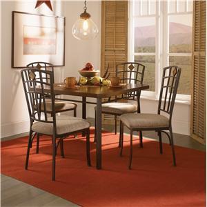 5 Piece Jefferson Table & Chair Set