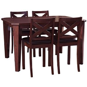 5 Piece Hempstead Gathering Table Set
