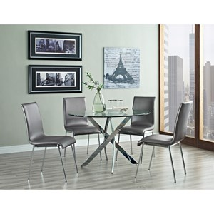 Powell Putnam 5pc Putnam Table and Chair Dining Set