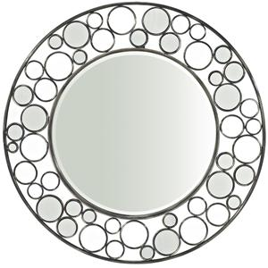 Powell Reflections Round Wall Mirror