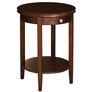 Powell Shelburne Cherry Accent Table