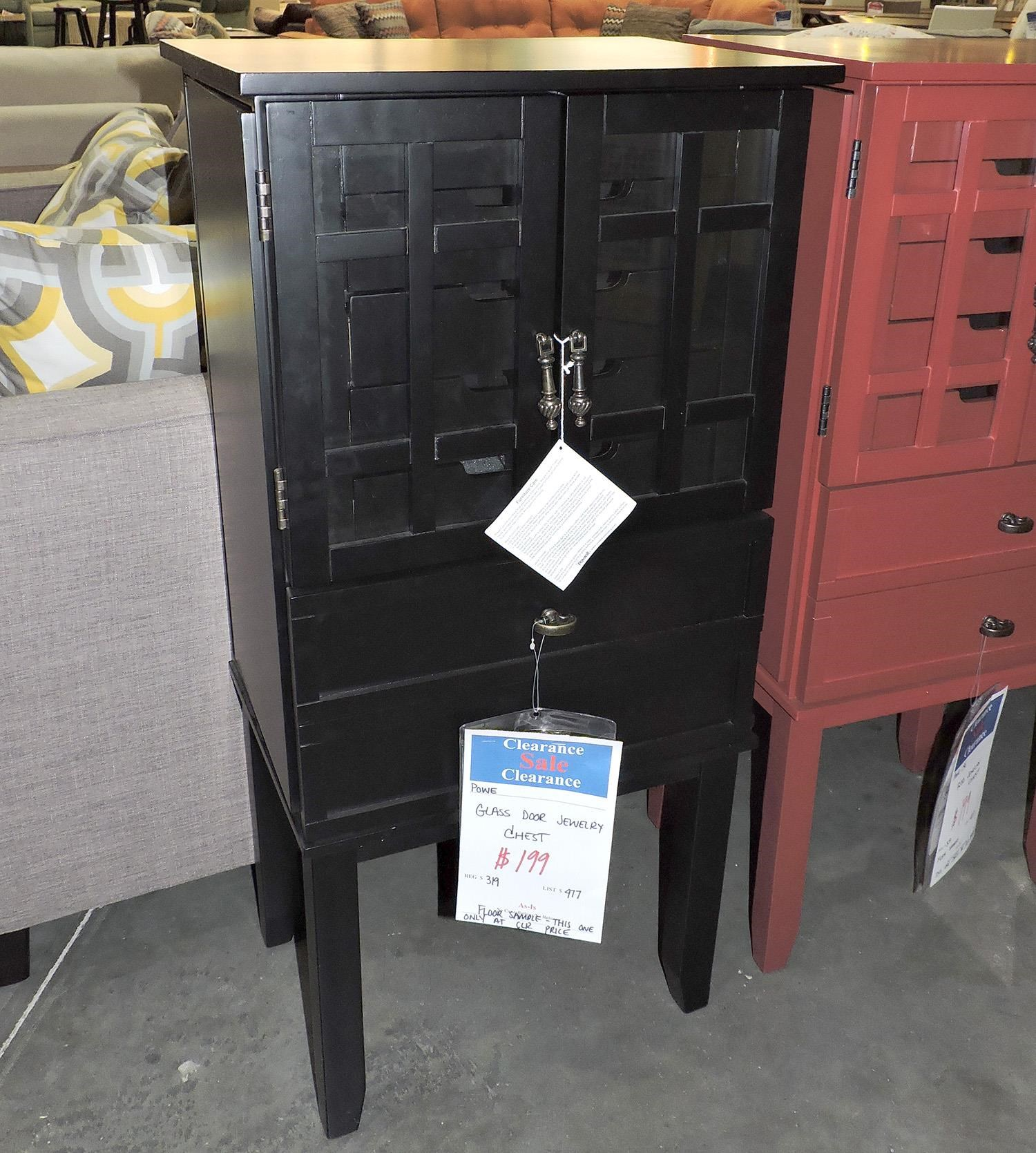 Powell Clearance Jewelry Chest - Item Number: 386297203