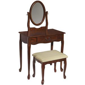 Powell Vanities  Woodland Cherry Vanity
