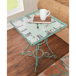 Square Clock Table