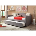 Powell Upholstered Daybed - Item Number: 14S2019