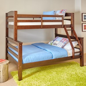 Powell Youth Beds and Bunks Porter Twin Over Full Bunk Bed